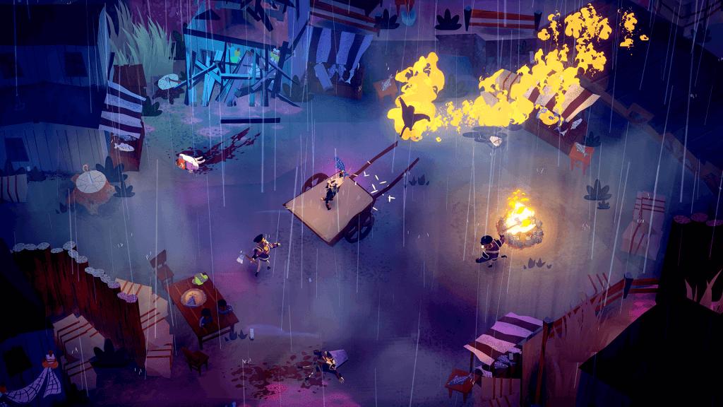 Bloodroots - visuel bataille de nuit
