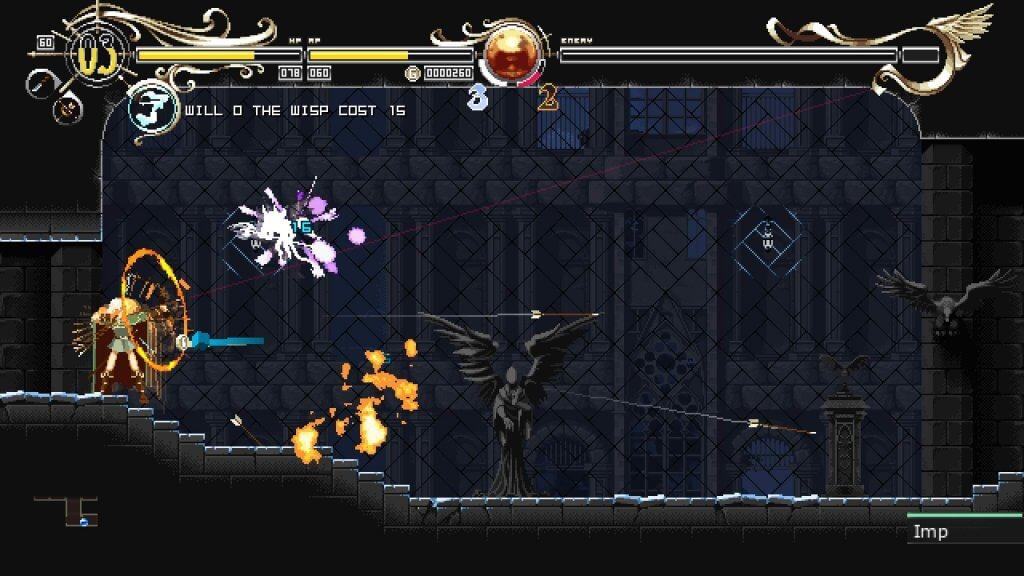 Deedlit in Wonder Labyrinth - Difficulté inexistante et arc ne font pas bon ménage !