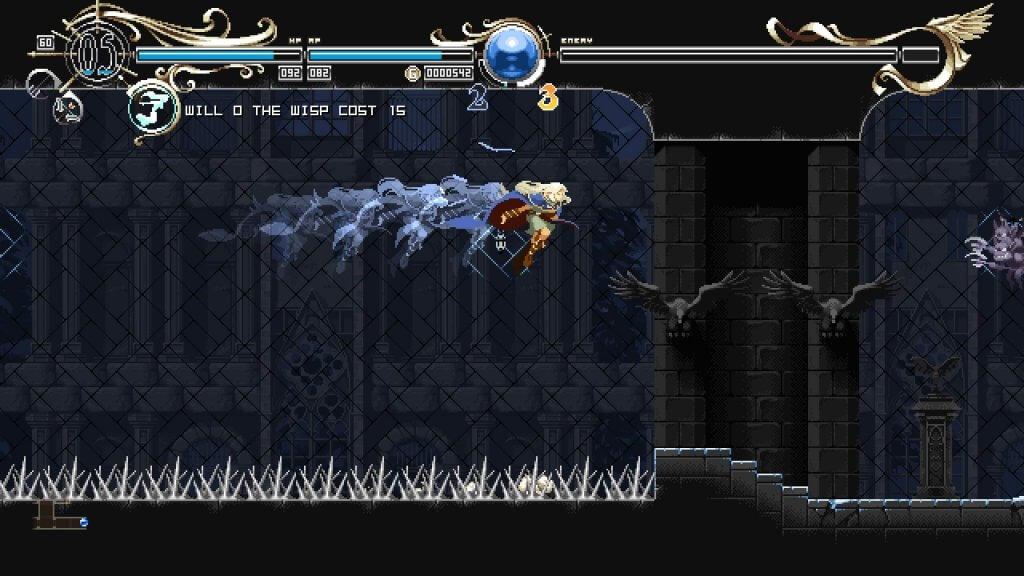 Deedlit in Wonder Labyrinth - Sylph vous permettra de voleter un peu partout...
