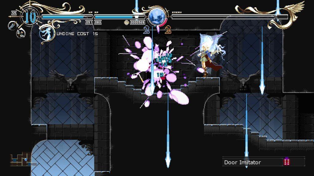 Deedlit in Wonder Labyrinth - Le sort d'Undine est plutôt puissant...