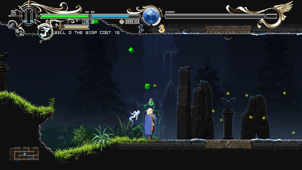 Deedlit in Wonder Labyrinth - Sachez que les potions existent dans ce jeu, ainsi que les poupées vaudou (regardez bien)