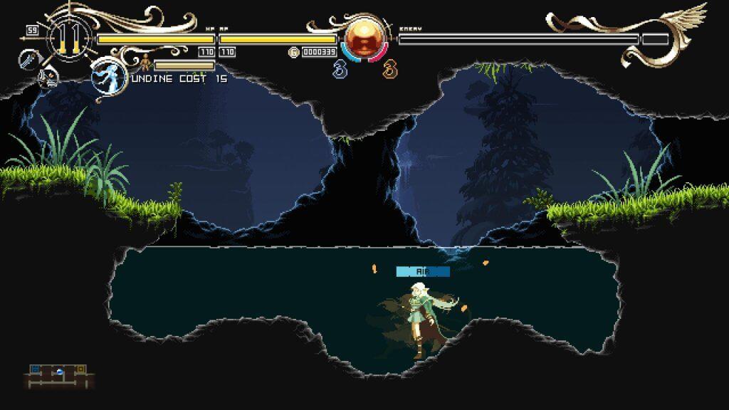 Deedlit in Wonder Labyrinth - L'eau devrait nous poser quelques problèmes dans les prochains stages