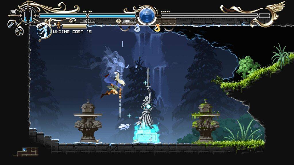 Deedlit in Wonder Labyrinth - On peut frapper dans toutes les directions !