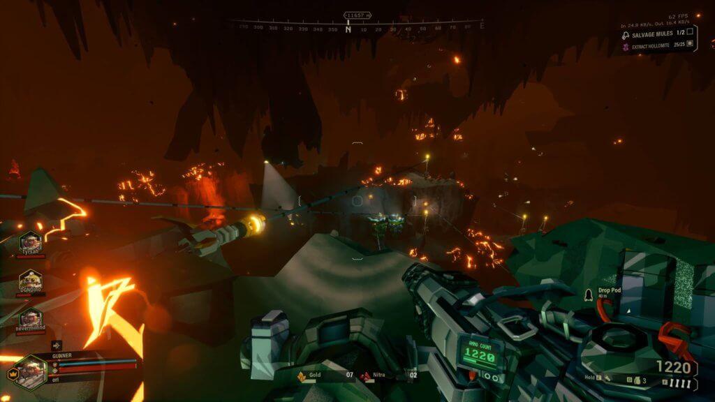 Deep Rock Galactic - Les gouffres peuvent être parfois très complexes !