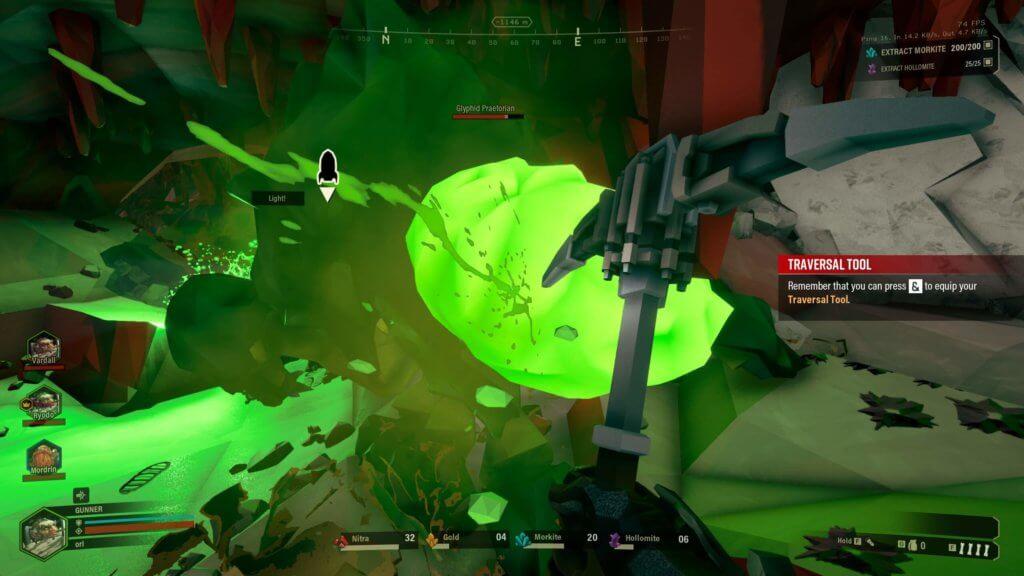 Deep Rock Galactic - Éradiquer des insectes à la pioche est aussi une très bonne option !