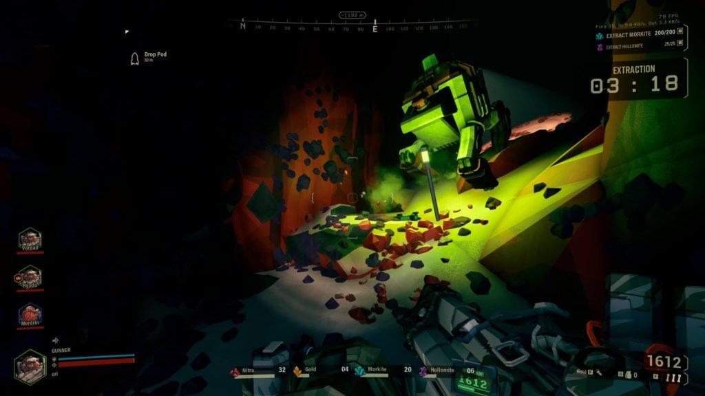 Deep Rock Galactic - Stress de fin de mission ! Il est de temps rentrer...