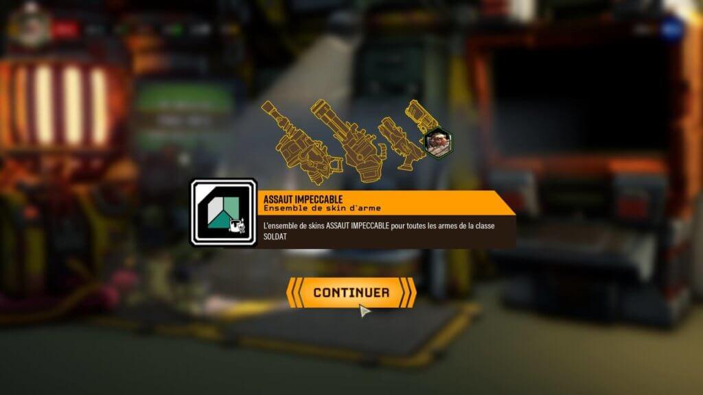 Deep Rock Galactic - Voici un exemple de récompense uniquement cosmétique qui laisseront de marbre certains joueurs.