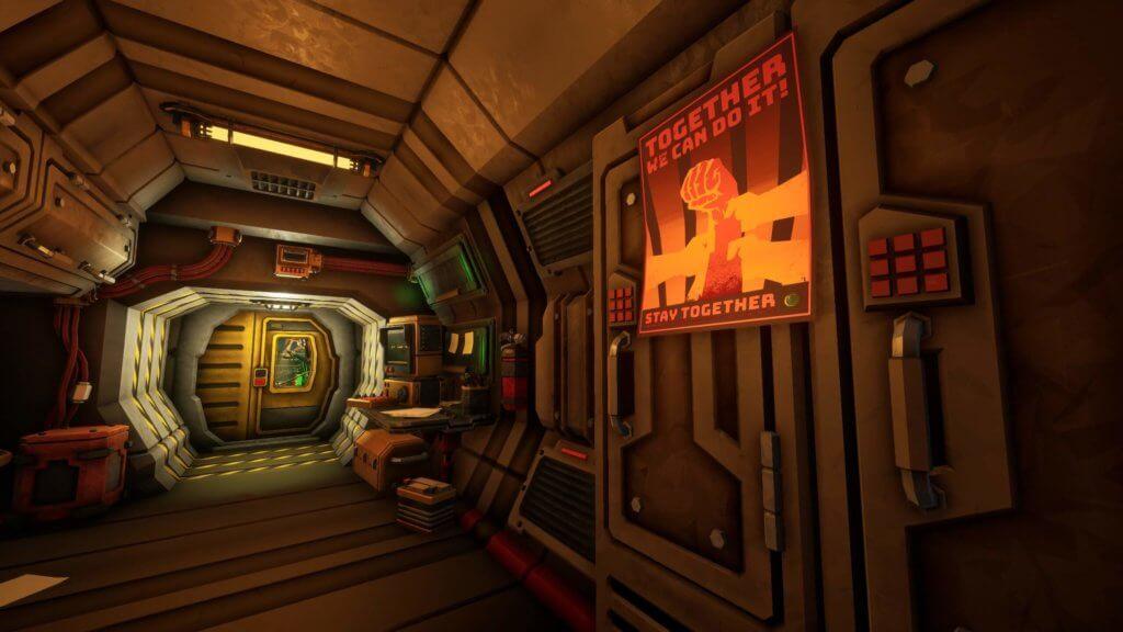 Deep Rock Galactic - Votre cabine de mineur au calme.